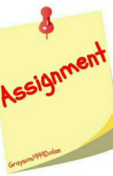 Assignment •Grayson Dolan•