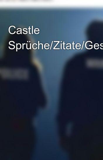 Castle Sprüchezitategespräche Katecaskettalways Wattpad