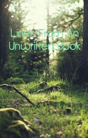 Lines From An Unwritten Book by blakerandleman