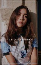 DAILY REMINDER. by isadoruh
