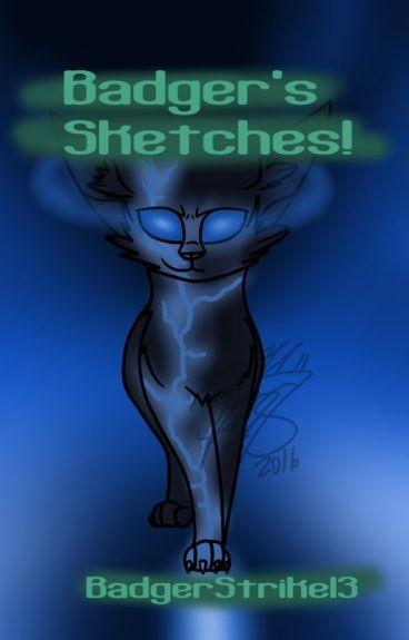 Badger's Sketches! *2nd Sketchbook!*