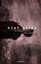 """stay alive"""" carl grimes by itachisbaez"""