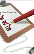 Umfragen - Alles Was DICH interessiert!  by Sun_Samantha