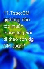 11.Tsao:CM giphóng dân tộc muốn thắng lợi phải đi theo con đg CM vsản? by Thanh_it
