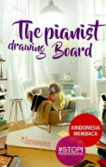 The Pianist Drawing Board (Selesai)