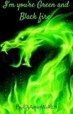 Im youre green and black fire(child reader!×Antisepticeye and Darkiplier) by DjArtistWolf223