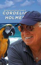 CORDELIA HOLMES︱greg lestrade by marveloushunterelf