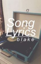 Song Lyrics by senses-