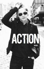 Action ✄ Evan Peters by Roewrites
