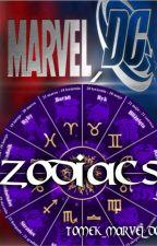 Marvel, DC zodiacs by Tomek_Marvel_DC