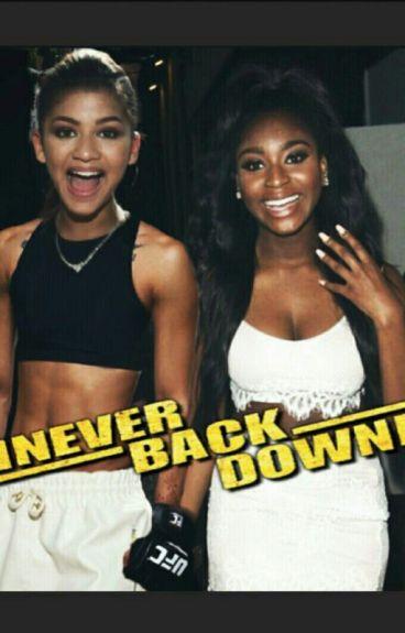 Never Back Down || Zenmani [AU]