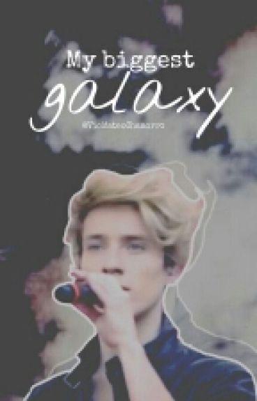 My biggest galaxy. || Alonso Villalpando || #MLS2