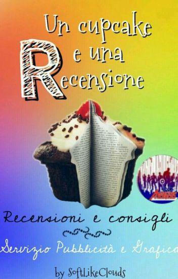Un Cupcake e Una recensione- Servizio di pubblicità, grafica e recensioni
