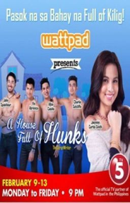 """A House Full of Hunks"" Book1 [PUBLISHED] MINI SERIES ON TV5 this coming February 9, 2015"