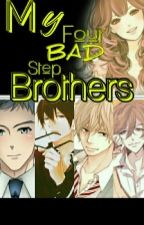 My four Bad step Brothers by BluescarletRPM