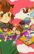 Inazuma Eleven-poze Funny by Myako123