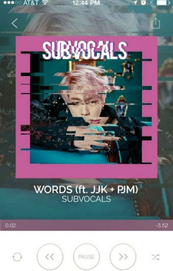 WORDS ➳ JJK✚PJM