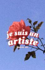 ◜ je suis un artiste ◞  by blackrain_bow