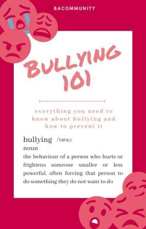 Bullying 101 by BACommunity