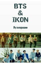 BTS & IKON by evequeenn