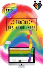 Le Rant book des Homolistes by TeamHomolistes