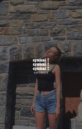 CYNICAL ✓ by -itsrachhel