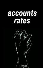 accounts rates [ cerrado ] by -lxght