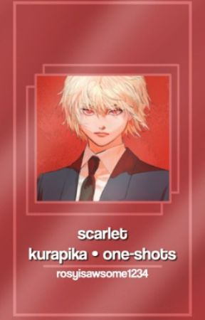 𝙨𝙘𝙖𝙧𝙡𝙚𝙩 | kurapika • one-shots - Kurapika x Pregnant!Reader