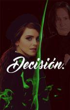 Decisión. by AlxAsher
