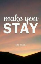 MAKE YOU STAY ✈️ [ji.kook] by fooljoshi