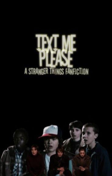 Text Me Plz {Stranger Things} | #Wattys2015