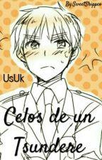 Celos De Un Tsundere (UsUk) by SweetShippeo