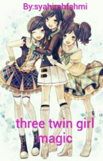 Three Twin Girl Magic