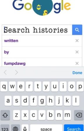 Search histories by fumpdawg