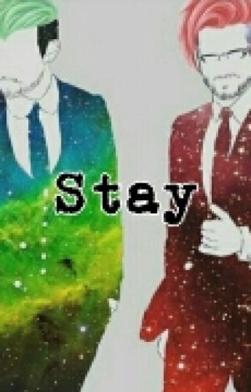 """STAY"" A Darkiplier And Antisepticeye Story"