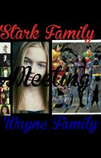 Stark Family and Wayne Family Meeting by shipping-stark