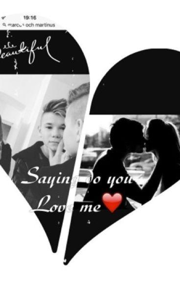 Saying do you Love me❤️