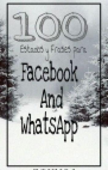 100 Frases Y Estados Para Whatsapp Y Facebook Lina Wattpad