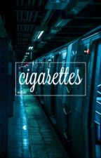 Cigarettes; Lip Gallagher  by verticaluke