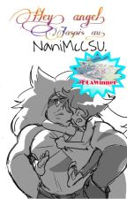 Hey, angel. || Jaspis. AU. Steven Universe. by Mechi_Brief
