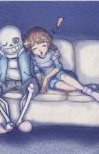 Frans love Journey (Frisk x Sans) by Purplerose0087