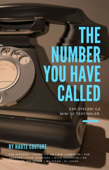 The Number You Have Called (√)