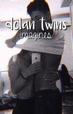 dolan twins ⇢ imagines by -rainbowdolan
