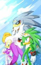 """Sonic The Hedgehog """"The back story of Babylon Rogues"""" by Deredere_"""