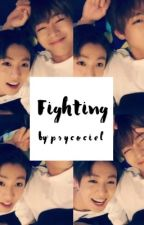 fighting ;  by psycociel