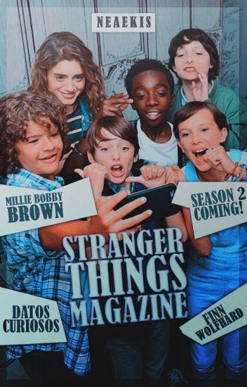 stranger things magazine