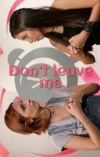 Don't leave me • taekook by parkjimink