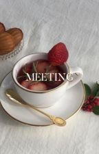 meeting | taehyung  by cyphertori