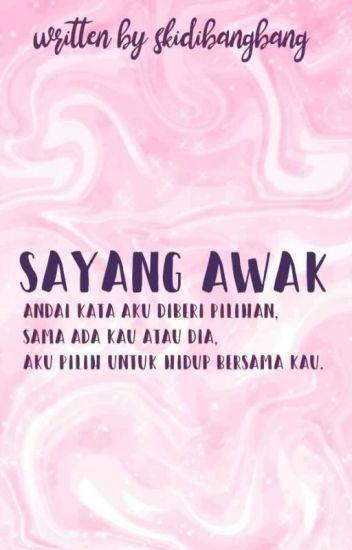sayang awak ; malay [C]