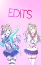 Edits of Love Live by nilea27
